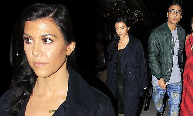 Kourtney out with Diddy's son, 24 after Scott was seen with 'new GF'