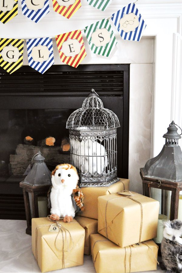 A Magical Harry Potter Birthday Party: Don t forget the Owls