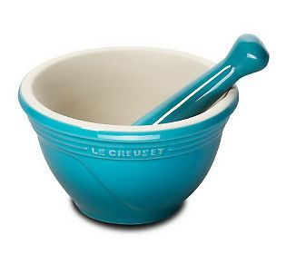 le creuset mortar and pestle
