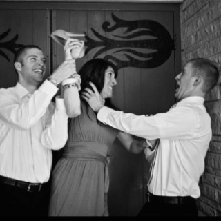 Adult siblings photography. My brothers and I. :). Shot by Elisa Griffith, Ardmore Oklahoma