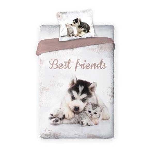 Hund och Katt sängkläder
