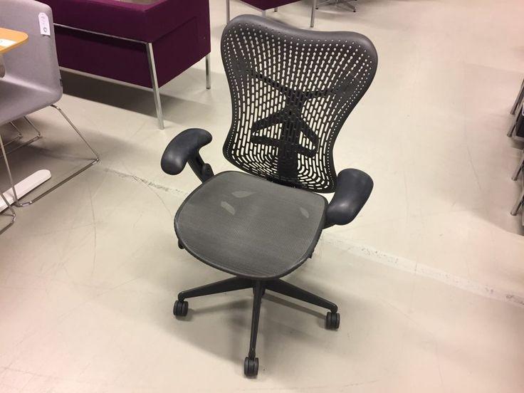 Herman Miller Mirra, snygg kontorstol med ett lite nättare utseende