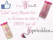 Pink Zebra Home!!! Like my post on facebook to be entered for a chance to win a free jar of sprinkles!!! https://www.pinkzebrahome.com/sprinkleprincess