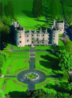 Kilkenny Castle, Kilkenny, Ireland - while vacationing in Ireland, Scotland, & England, it was a thrill to get to tour the old castles. Especially the Blarney Castle where we got to kiss the blarney Stone!!
