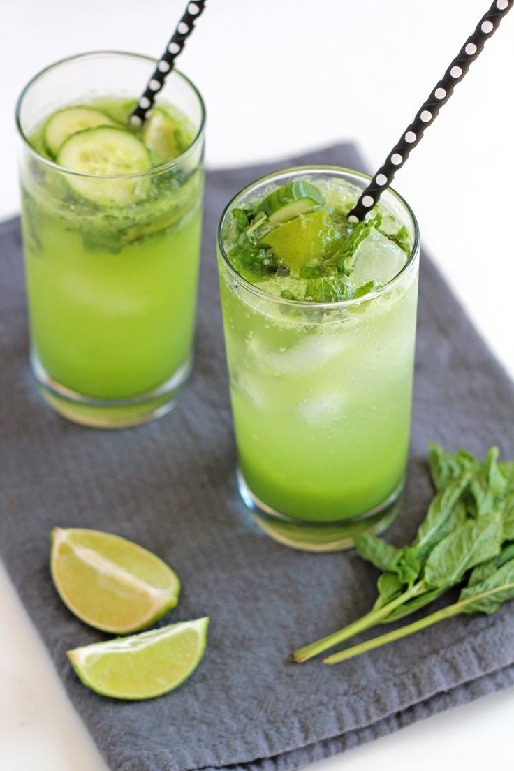 (Non-Alcoholic) Cucumber Mojito