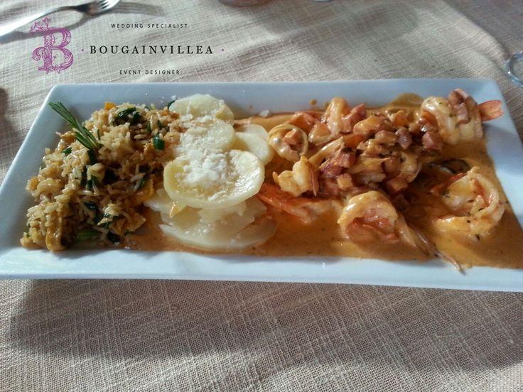 El plato fuerte ideal para tu boda en San Migue de Allende www.bougainvilleabodas.com.mx Bodas