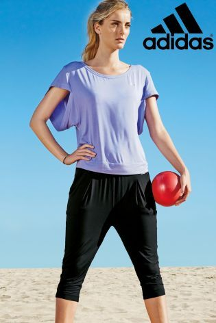 Buy adidas Lilac Yoga T-Shirt online today at Next: Slovakia