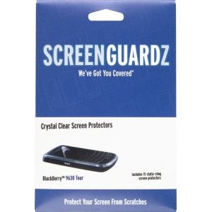 BodyGuardz - ScreenGuardz Screen Protectors for Blackberry 9630, 9650