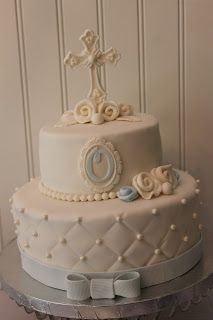 Decorate The Cake: First Communion Dessert Table