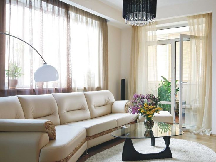 Фото из статьи: Как сделать комнату светлой: 5 простых шагов с советами дизайнеров