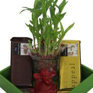 Chocolates With Ganesh Idol and rakhi gifts to mumbai