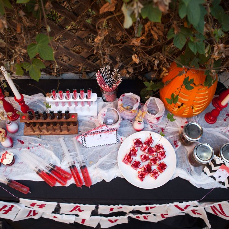 13 Must-Makes for a Truly Creepy Halloween Party via Brit + Co.