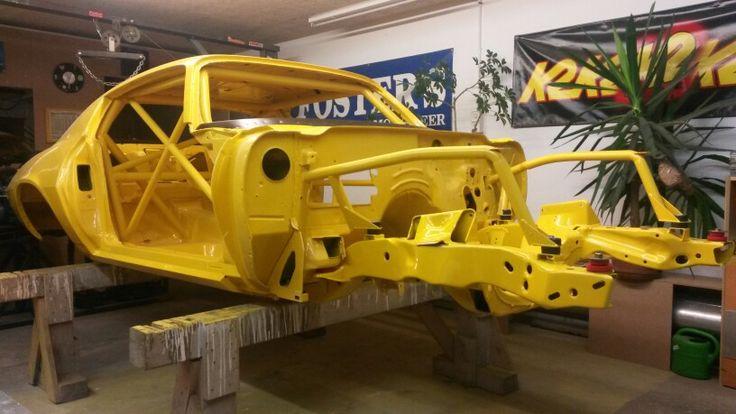 Aufbau Camaro 1971
