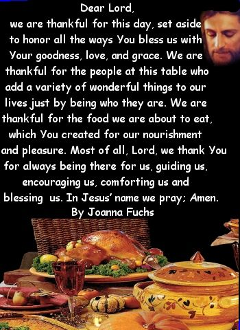 thanksgiving dinner prayer | Inkjets Cartridges | Join our mailing list