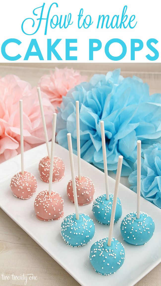 How to Make Cake Pops! It's easier than you think!