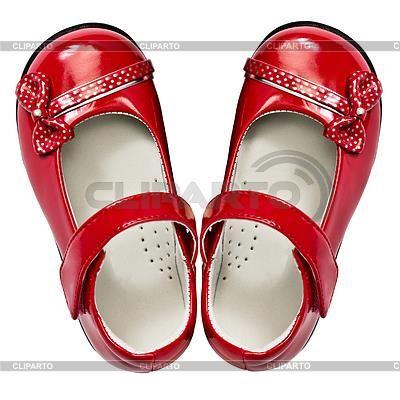 Где купить красные детские туфли