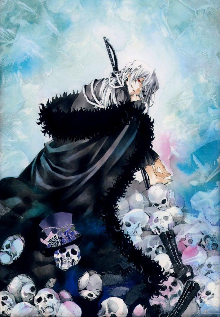 Xerxes Break - Pandora Hearts,Anime