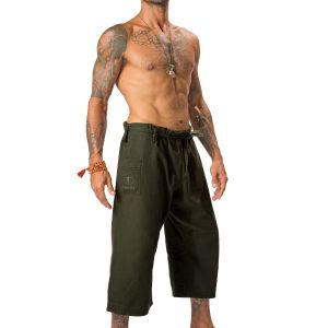 YOGiiZA Men's Organic Performance Yoga Pants Forest Night | www.downdogboutique.com