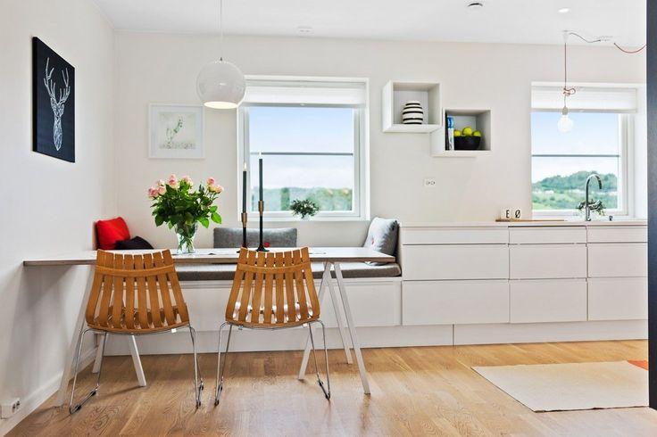 FINN – Melhus - Delikat 4-roms rekkehus fra 2015, beliggende i meget attraktivt boligområde | 3 soverom | AUBO kjøkken