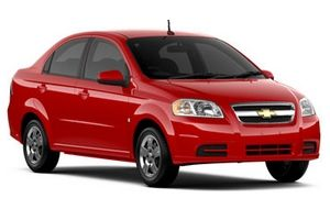 Chevrolet aveo car rental in South Africa