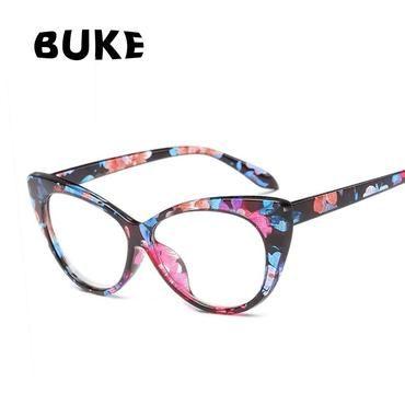 30cc5af03b5f Fashion Women Coating Optical Glasses Frame Cat Eye Eyeglasses Anti- radiation Andiehrb
