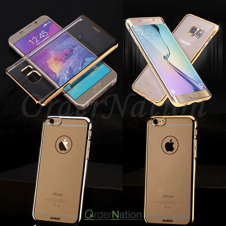 Rs 1200 (Cash on delivery) XUNDD Shine Ultra Thin Electroplating Frame Transparent PC Protective Case 100% brand new and high quality. Easy to install and remove.  Available in Iphone 5 and iphone 6. Available in Samsung note 4 note5 s6 s6 edge. How to place order: - Inbox us on Facebook - Whatsapp us : 03064744465 - http://ift.tt/1MNMhRR