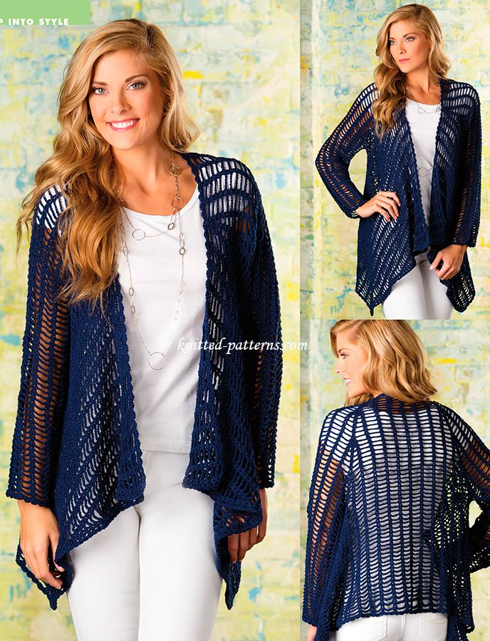 Georgianna Jacket - free pattern ~k8~* ༺✿ƬⱤღ  https://www.pinterest.com/teretegui/✿༻