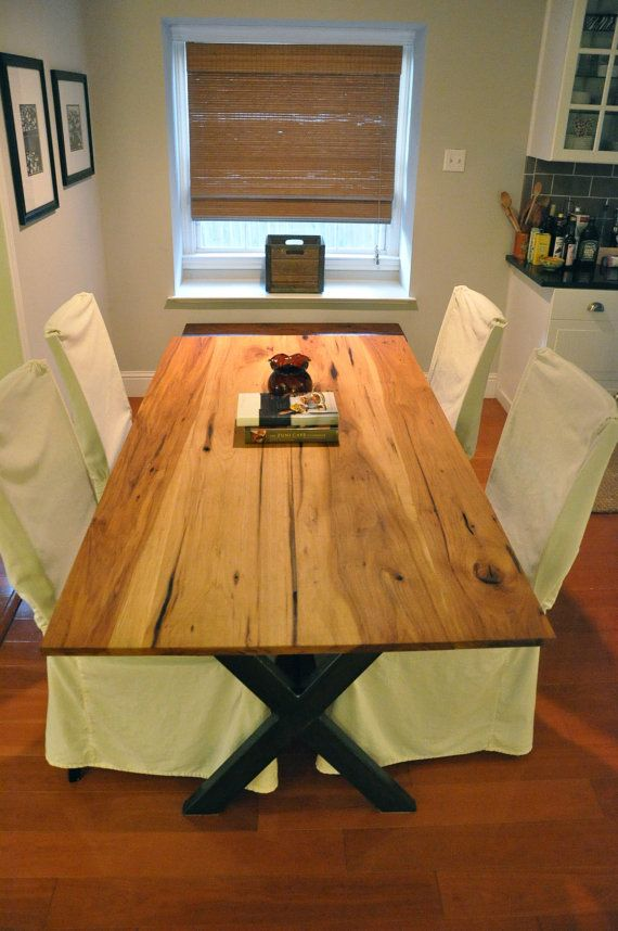 The LEA Dining Table Reclaimed Pecan Wood Dining By Hautehabitats Part 88