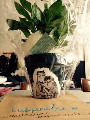 how to save old & punched vases. Capparels illustrations (find on FB)
