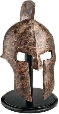 Greek Spartan Helmet- does anyone else think this looks like the helmet worn by Magneto of Xmen?