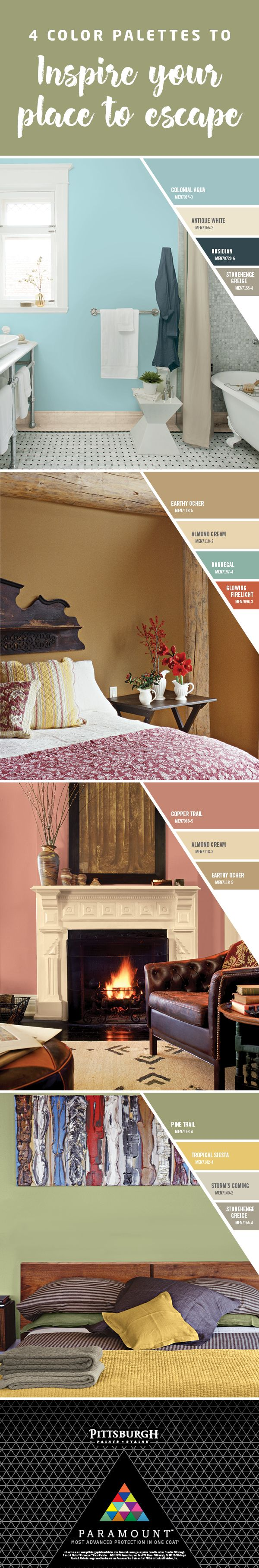 Create a Place to Escape |The Escape Collection features paint colors to  create your perfect