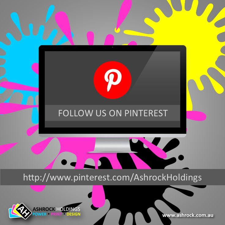 Follow us on #pinterest @ http://www.pinterest.com/ashrockholdings