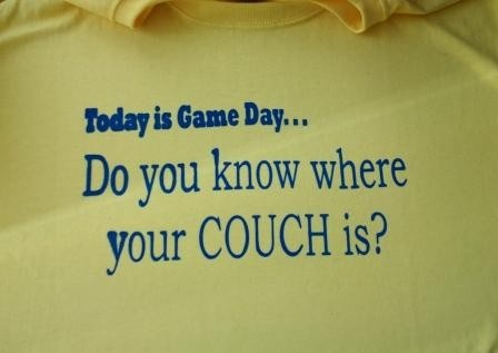 WVU Gameday football basketball sports couch burning tshirt WV West Virginia University Mountaineers. $16.00, via Etsy.
