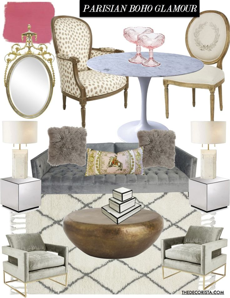 Design inspiration: 2 feminine rooms I adore — The Decorista