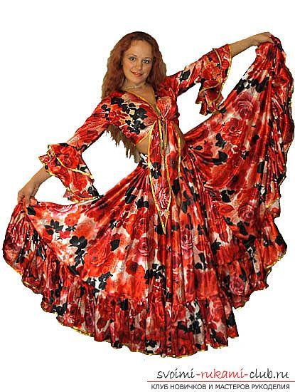Как сшить яркий, эффектный костюм цыганки своими руками. Профессиональные советы по пошиву цыганского костюма по выкройке