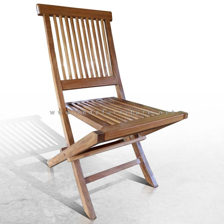 Kursi Lipat Kayu | Indo Furniture
