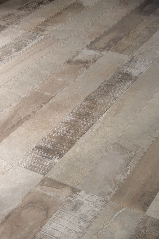 Inessence by Provenza, a mix of recycled wood and stone-cement.