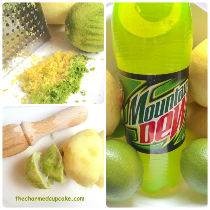These cupcakes all came about when I posted a link about Mountain Dew cupcakes on a friend's Facebook page as her son loves Mountain Dew. One thing led to another and before I knew it my dear…