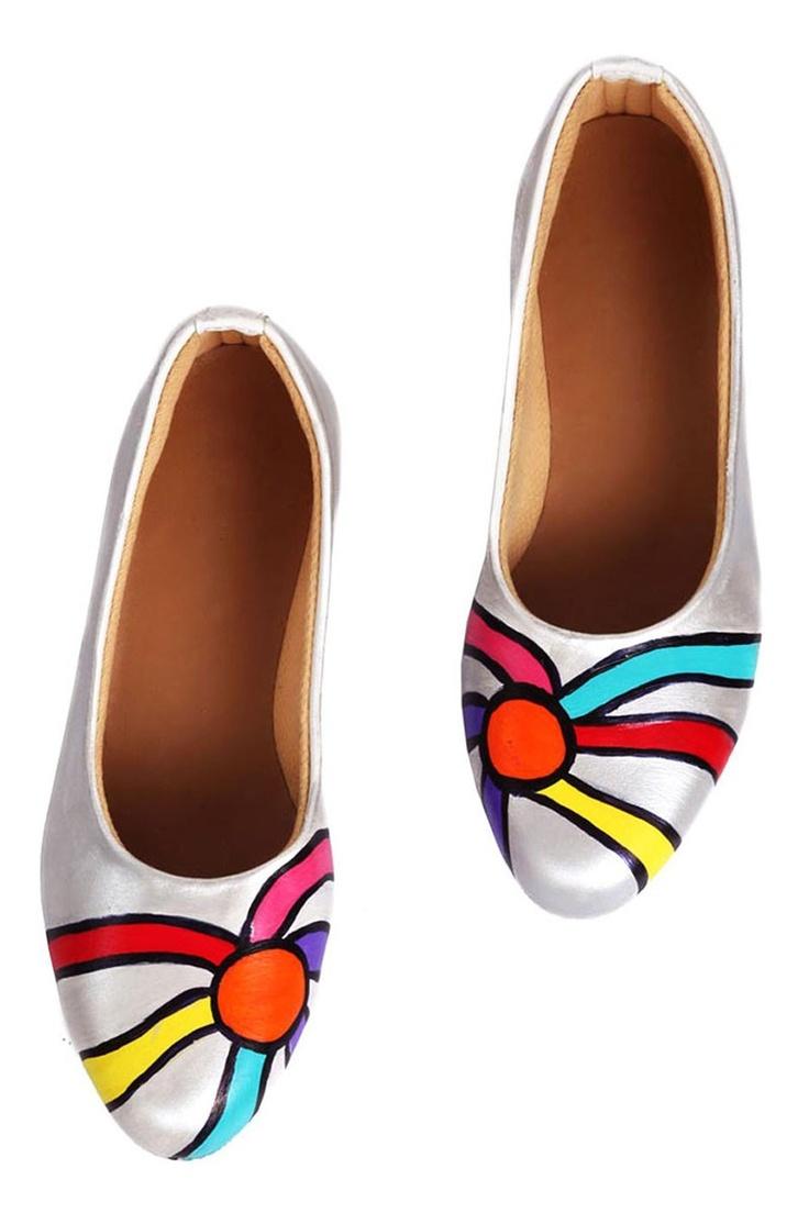 Rainbow Splash Shoes
