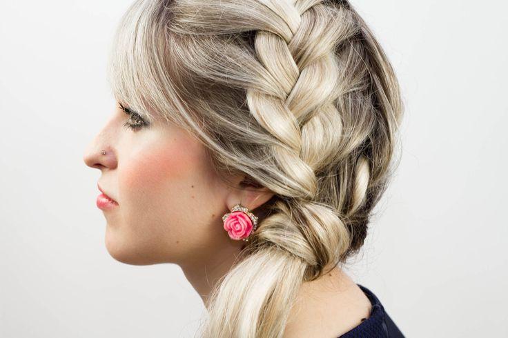 Вечерняя прическа для длинных волос. Evening Hairstyle for Long Hair