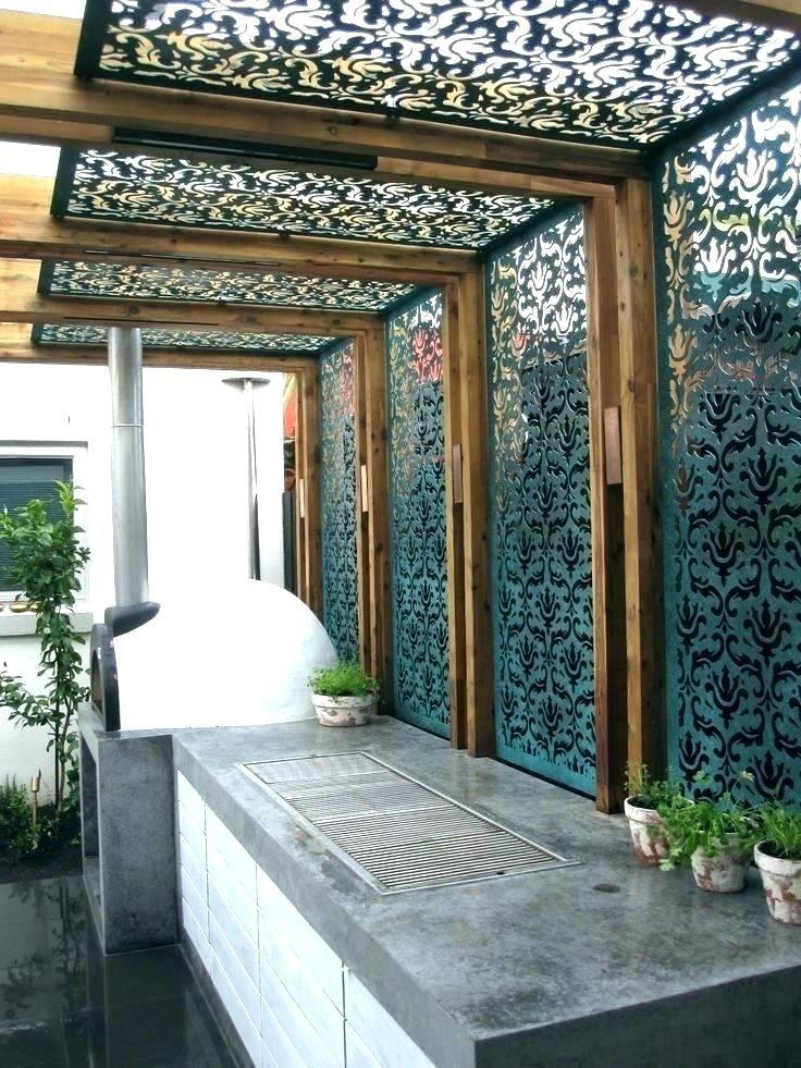 outdoor metal panels classy decorative metal garden panels