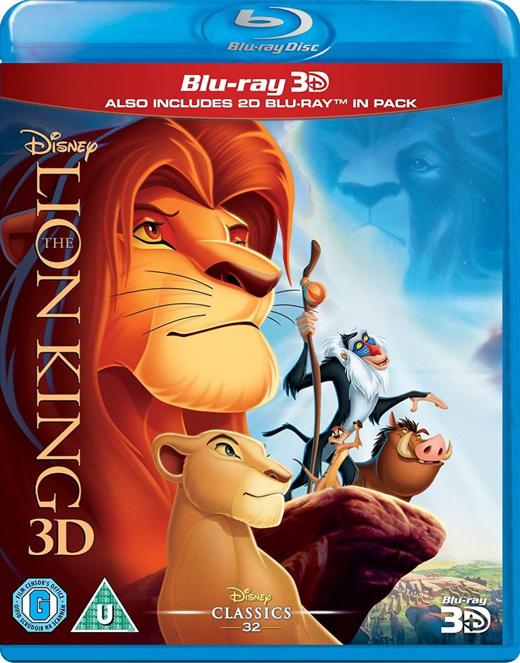 The Lion King 3D Blu-ray 3D, Includes 2D Region Free: Amazon.ca: DVD