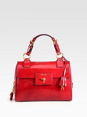 Prada Spazzolato Top Handle BagTops Handles, Spazzolato Bags, Awesome Handbags, Prada Bags, Red Bags, Handles Bags, Spazzolato Tops, Prada Spazzolato, Clutches Pur