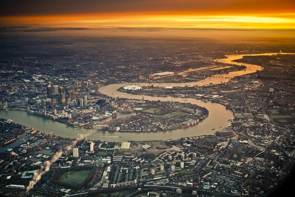 london air view