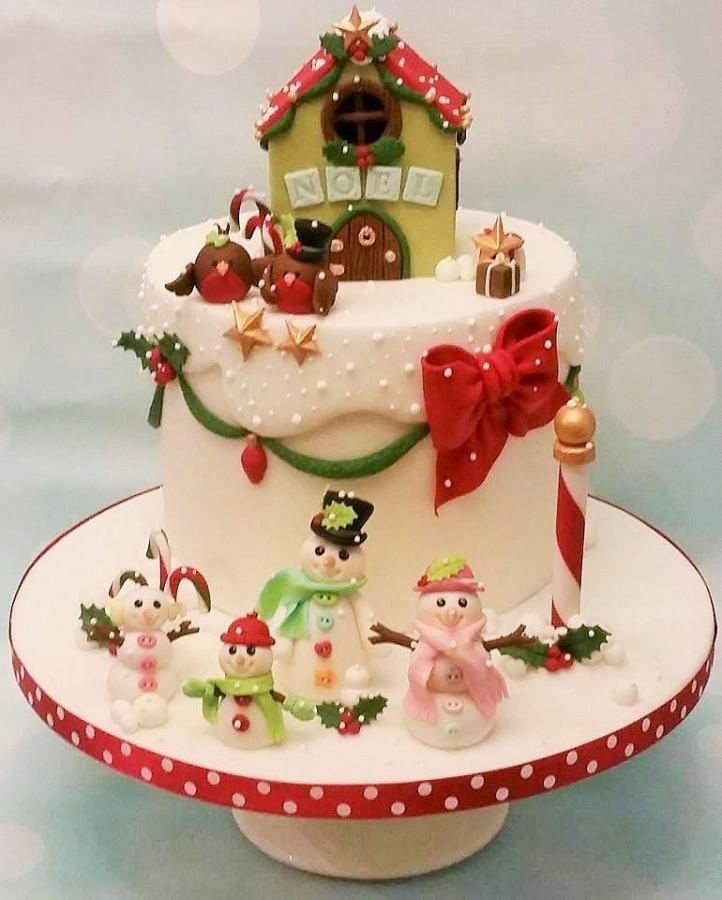 GOLD CI - Christmas Cake by Shereen