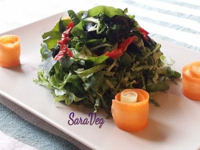 SaraVeg: Insalata di alghe e Tahina - Vegan