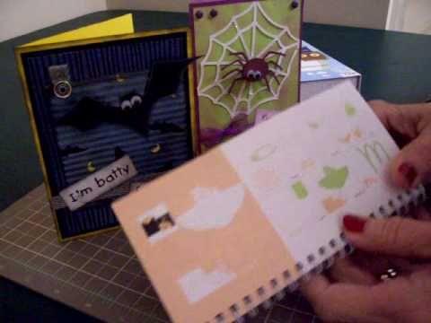 Cricut Wild Card Halloween Cards