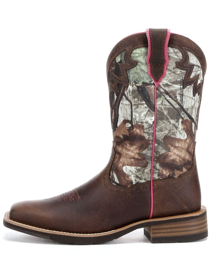 Ariat Womens Camo Boots http://www.countryoutfitter.com/boots/camouflage