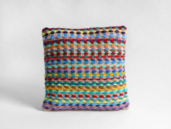 Vintage Knit Cushion