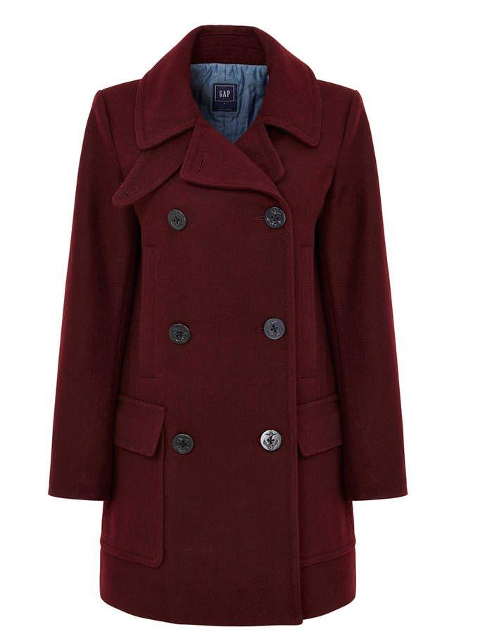 Manteau femme en laine GAP